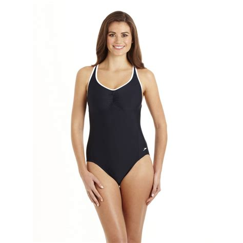 Speedo Pureshape 1 Piece Swimsuit - Sweatband.com