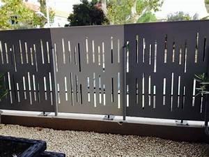 Brise Vue En Aluminium : brise vue acier thermolaqu salon de provence sas smdr ~ Edinachiropracticcenter.com Idées de Décoration