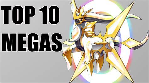 Top 10 Mega Evolutions For Legendary Pokemon