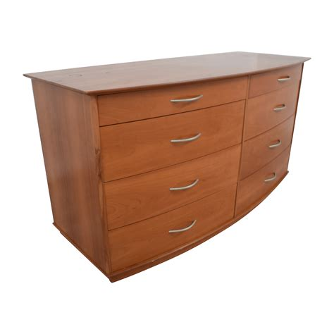 light wood dresser 82 light brown wooden eight drawer dresser storage