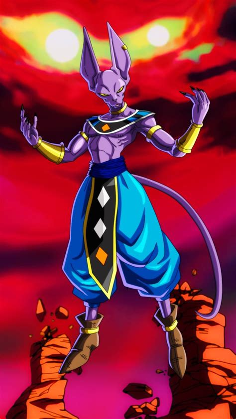 pin de  bones em lord beerus bills dios de la