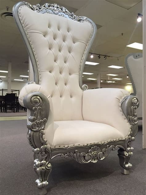 isaiahfurniture 6 ft throne chair baroque