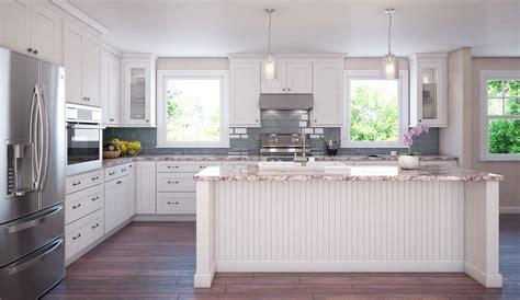 brilliant white shaker ready  assemble kitchen cabinets kitchen cabinets