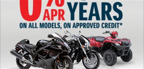 Suzuki Financing by Finance A New Motorcycle At 0 Apr Woods Cycle Country