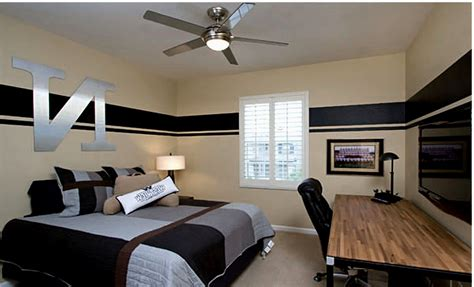design modern bedroom  teenage boy small shared ideas