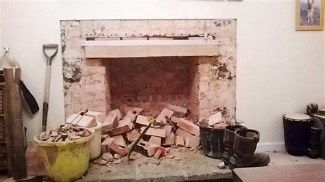 reinstating  removing  fireplaces homebuilding