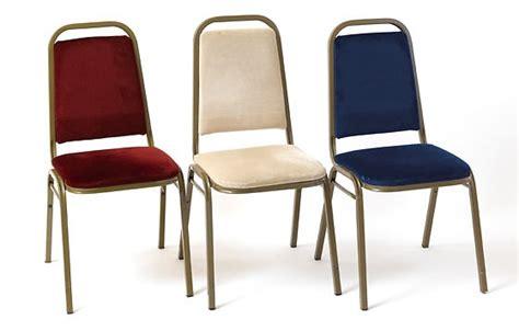 medium metal banqueting chair