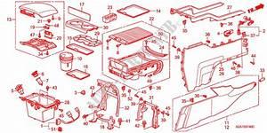 Center Console 1  For Honda Cars Pilot Ex