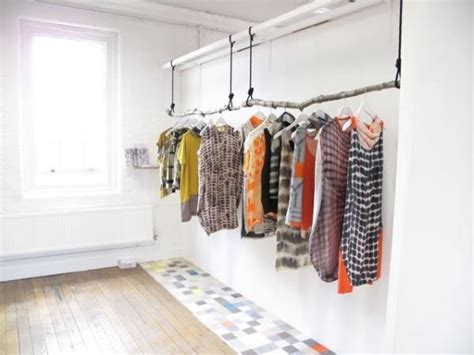clothes hanging rack how to clothes without closet interiorholic
