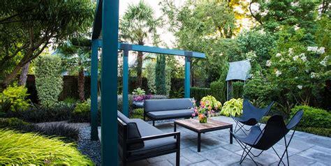 Small Patio Garden by Small Garden Gets Tropical Makeover Garden Design