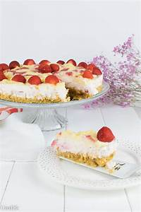 Torte Mit Erdbeeren : spaghetti eis torte mit erdbeeren ohne backen unalife ~ Lizthompson.info Haus und Dekorationen