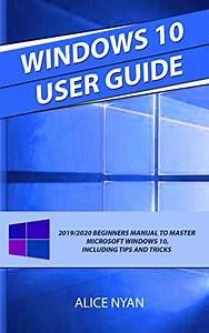 Download Windows 10 User Guide  2019  2020 Beginners Manual