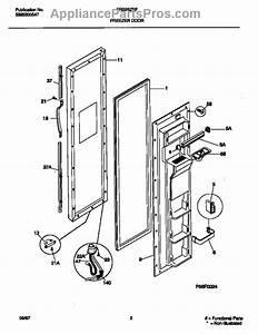 Frigidaire 215734313 Freezer Door Gasket