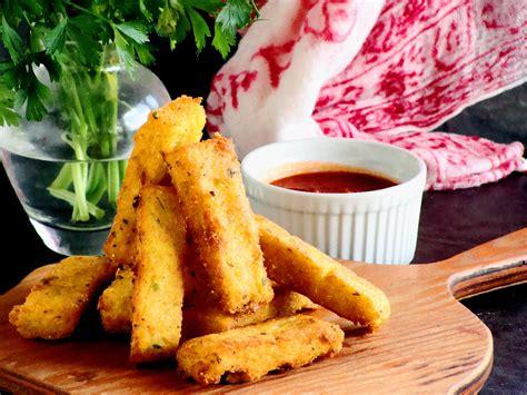 cuisine polenta crispy fried polenta sticks cooking 39 s vegetarian cafe