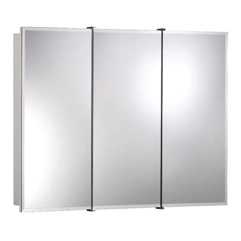 nutone medicine cabinets home depot shop broan ashland 24 in x 24 in rectangle surface