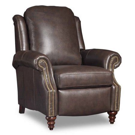 bradington recliner reviews bradington hobson leather recliner in brown