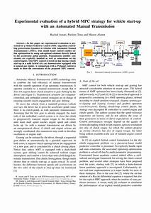 Pdf  Experimental Evaluation Of A Hybrid Mpc Strategy For