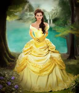 Emma Watson Beauty and the Beast Belle