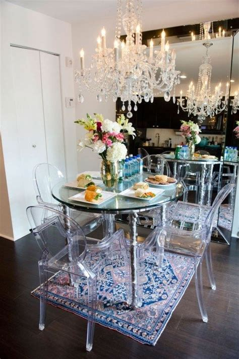 glam dining room glam decor