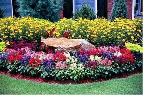 front yard garden beds front yard flower bed ideas flower bed for front yard gardening pinterest discover more
