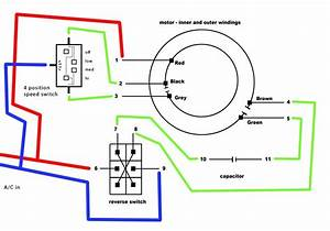 Ceiling Fan Reverse Switch Wiring Diagram