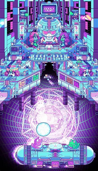 Robertson Paul Pixel Gifs Psychedelic Pixels Adult