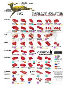 Venison Deer Meat Cuts