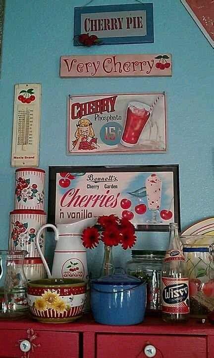 cherry kitchen accessories 31 best vintage cherry nursery images on 2144