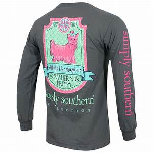 Simply Southern Yorkshire Long Sleeve T-Shirt - Gray