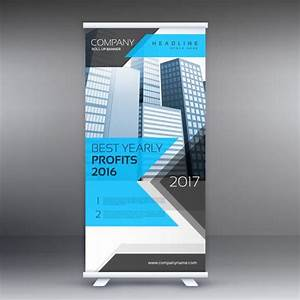 Free Leaflet Template Roll Up Stand Banner Template Layout Download Free