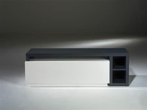 beau canapé d angle meuble tv modulable axe laqué blanc et gris anthracite