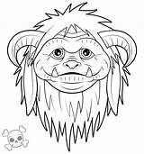 Labyrinth Coloring Characters Ludo Drawing Tattoo Clipart Dessin Henson Jim Labrynth Goblin Labyrinth2 Labyrinthe King Adult Colouring Colorier Zombiegirl01 Deviantart sketch template