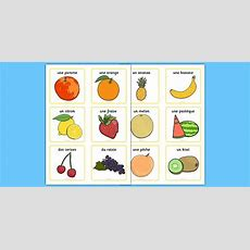 Fruit Vocabulary Cards Small  French, Fruit, Vocabulary Cards