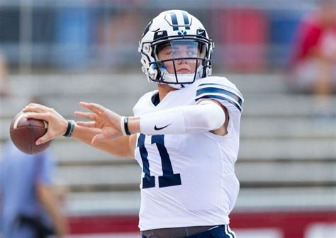 Zachary kapono wilson (born august 3, 1999) is an american football quarterback who played for the byu cougars. BYU Football: Zach Wilson Shines With Record-Breaking ...