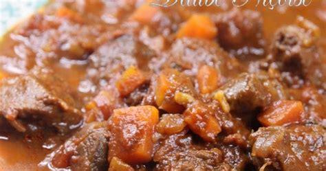 comment cuisiner le paleron de boeuf variations gourmandes daube à la niçoise
