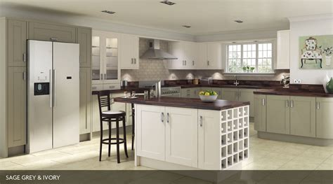 Lighting For Kitchens Ideas - shaker painted our kitchens sheraton kitchens