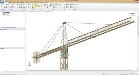 analysing large fabricated structures finite element