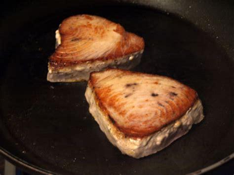 comment cuisiner steak thon comment cuire steak de thon