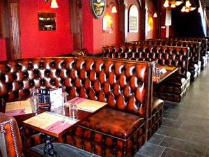 Bespoke Curved Banquette Seating Deep Buttoned : Kingsgate ...