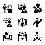 Icon Interaction Icons Cloud Computing Social Computer