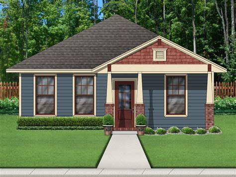 Craftsman Style House Plan 2 Beds 2 Baths 1074 Sq/Ft
