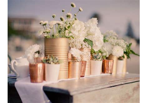 centre de table boite de conserve centre de table nos 20 jolies id 233 es pour un mariage r 233 ussi