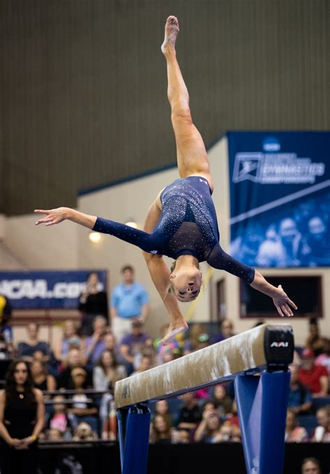 gallery gymnastics takes home  place   ncaa