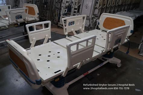 Stryker Hospital Bed by Refurbished Stryker Secure Ii Secure 2 Hospital Beds For