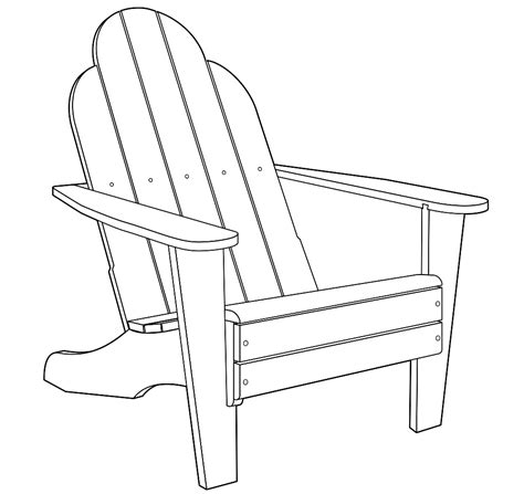 chair coloring pages getcoloringpages