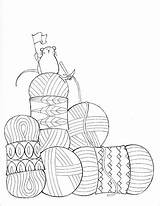 Coloring Pages Still Crochet Yarn Dream Knitting Knit Sheets Knitpicks Adult Books Humor Getdrawings sketch template