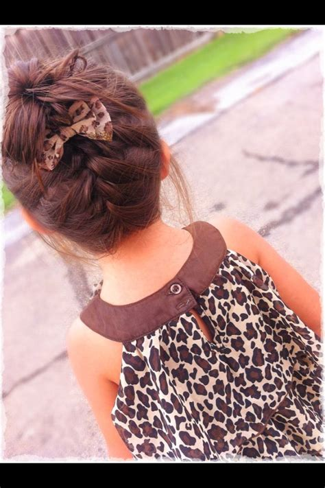 hair baby hairstyles bun braid toddler braided messy hairstyle french cute babies bow styles upside fanciness toddlers peinados newborn buns