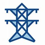 Brands Social Pngtree Pylon Icons Electricity