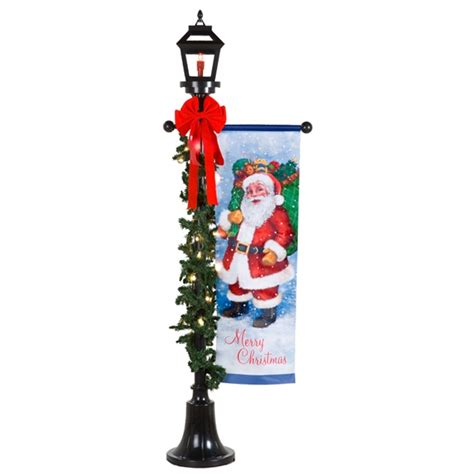 outdoor holiday lamp post gemmy wiki fandom powered