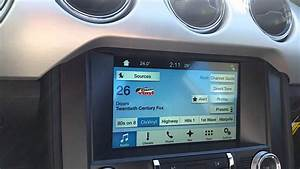 How to use Sync 3 in 2016 Ford Mustangs - YouTube